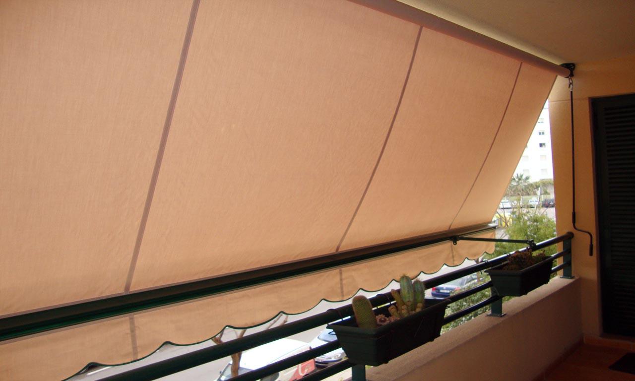 Toldos productos inti for Brazos para toldos balcon